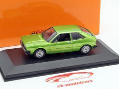 Volkswagen VW Scirocco år 1974 grøn metallic 1:43 Minichamps