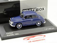 Panhard Scarlette Baujahr 1953 dunkelblau 1:43 WhiteBox