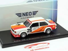 Audi 80 GTE #26 ETCC Monza 1980 Bergmeister, Nowak 1:43 Neo