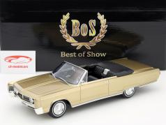Chrysler Newport Cabriolet Year 1967 gold metallic 1:18 BoS-Models