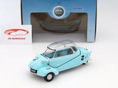 Messerschmitt Kabinenroller KR200 luz azul 1:18 Oxford