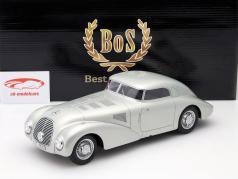 Mercedes-Benz 540 K (W29) Streamlined car Year 1938 silver 1:18 BoS-Models