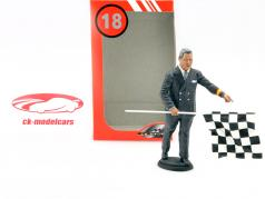 Racetracks director 1950-70 figure 1:18 LeMansMiniatures