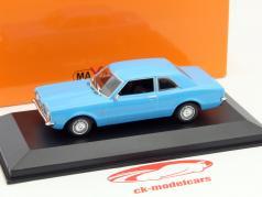 Ford Taunus ano 1970 azul 1:43 Minichamps