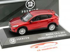 Mazda CX-5 Baujahr 2013 rot metallic 1:43 Triple 9