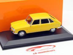 Renault 16 année 1965 jaune 1:43 Minichamps