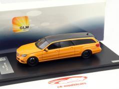 Mercedes-Benz E-Class (S212) Binz Estate Limousine Year 2015 orange 1:43 GLM