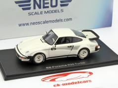 Porsche BB 911 (930) Turbo white 1:43 Neo
