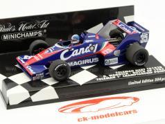 Derek Warwick Toleman TG183B #35 Pays-Bas GP formule 1 1983 1:43 Minichamps