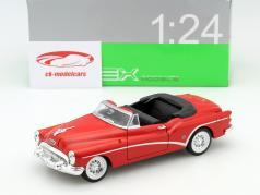 Buick Skylark Convertible Baujahr 1953 rot 1:24 Welly