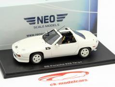 Porsche 928 BB Targa weiß 1:43 Neo