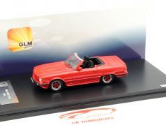 Mercedes-Benz AMG 500 SL R107 Year 1983 red 1:43 GLM