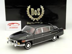 Tatra 603 jaar 1969 zwart 1:18 BoS-Models