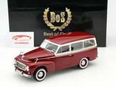 Volvo PV445 Duett Baujahr 1956 rot / beige 1:18 BoS-Models