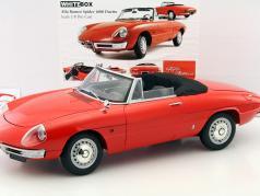 Alfa Romeo 1600 Duetto Spider red 1:8 WhiteBox