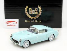 Chevrolet Corvette Corvair Concept Car Baujahr 1954 hellblau 1:18 BoS-Models