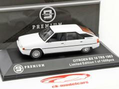 Citroen BX 16 TRS Year 1983 white 1:43 Triple 9