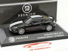 Subaru BRZ Year 2013 black / white 1:43 Triple 9