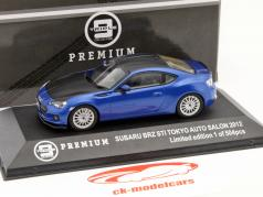 Subaru BRZ STI Tokyo Auto Show 2012 blau / carbon 1:43 Triple 9
