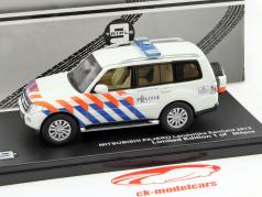 Mitsubishi Pajero Politie Netherlands 2013 white / orange / blue 1:43 Triple 9