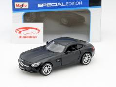 Mercedes-Benz AMG GT mat black 1:24 Maisto