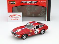 Ferrari 365 GTB4 Competizione #22 红 1:24 Bburago
