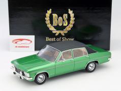 Opel Admiral B Baujahr 1971 grün / schwarz 1:18 BoS-Models