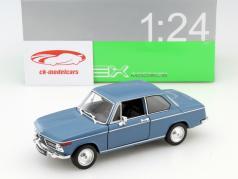 BMW 2002ti blauw 1:24 Welly