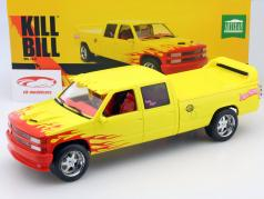 Chevrolet C-2500 Silverado Pussy Wagon Kill Bill Vol.I and II. yellow 1:18 Greenlight