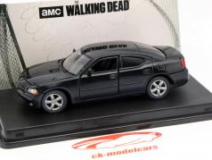 Dodge Charger Daryl Dixons Police The Walking Dead 2010 black 1:43 Greenlight
