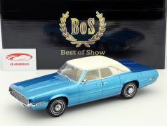 Ford Thunderbird Landaulet blå / hvid 1:18 BoS-Models