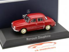 Renault Dauphine Baujahr 1963 rot 1:43 Norev