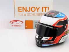 Jose Maria Lopez DS Virgin Racing Formel E 2016 Helm 1:2 Schuberth