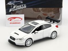 Mr. Little Nobody's Subaru WRX STI Fast and Furious 8 white 1:24 Jada Toys