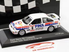 Ford Sierra RS Cosworth #6 vencedor rali 24h Uren van Ieper 1989 1:43 Minichamps