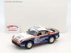 Porsche 959/50 #186 Winner Dakar Rally 1986 Metgei, Lemoyne 1:18 TrueScale