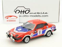 Triumph TR7 V8 Groupe 4 #11 winnaar Rallye Ypres 1980 Pond, Gallagher 1:18 Otto Mobile