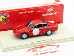 Fiat Abarth 1000 Sibona red / white 1:43 Spark
