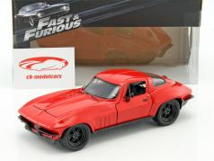 Letty's Chevrolet Corvette Fast and Furious 8 2017 rot 1:24 Jada Toys