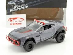 Letty's Local Motors Rally Fighter Fast and Furious 8 2017 gray 1:24 Jada Toys