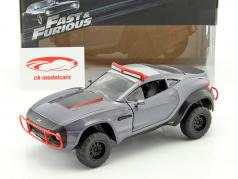 Letty's Local Motors Rally Fighter Fast and Furious 8 2017 gris 1:24 Jada Toys
