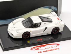 Ferrari FXX bianco 1:43 HotWheels Elite