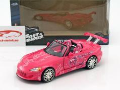 Suki's Honda S2000 2 Fast 2 Furious 2003 pink 1:24 Jada Toys