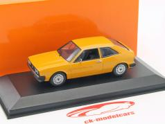 Volkswagen VW Scirocco Opførselsår 1974 gul 1:43 Minichamps