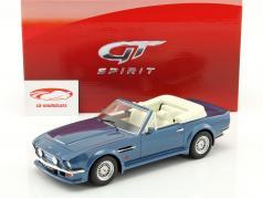 Aston Martin V8 Vantage Volante Bouwjaar 1977 blauw 1:18 GT-SPIRIT