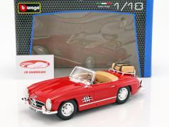 Mercedes-Benz 300 SL Touring Cabriolet year 1957 red 1:18 Bburago