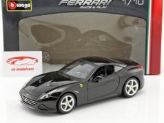 Ferrari California T closed Top schwarz 1:18 Bburago