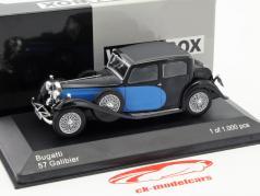 Bugatti 57 Galibier blau / schwarz 1:43 WhiteBox