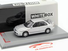 Mitsubishi Lancer Evolution I RHD Baujahr 1992 silber 1:43 WhiteBox