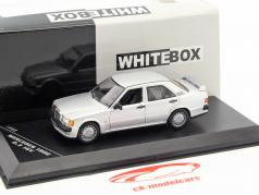 Mercedes-Benz 190E 2.3 16V year 1988 silver 1:43 WhiteBox